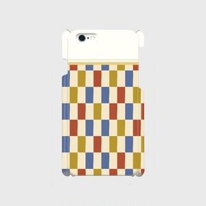 市松模様 着物布団 iPhoneケース - iPhone5/5s・6/6s・6Plus/6sPlus・7/7Plus・8/8Plus・X/XS・XR・XS Max
