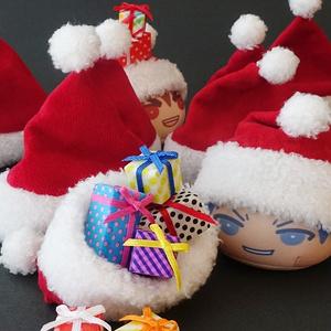サンタ帽(おまんじゅう)