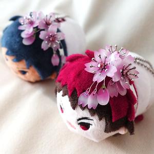 桜カチューシャ(もちマス、おまんじゅう)