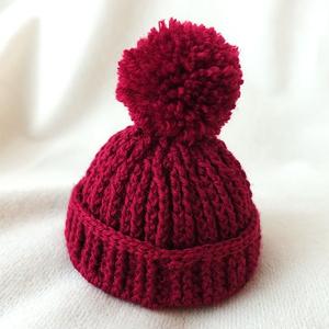 ニット帽(おまんじゅう)