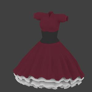 赤いドレス(無料版有り)