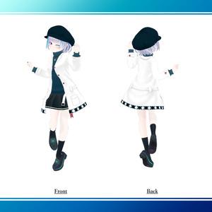 オリジナル3Dモデル『フィリ』