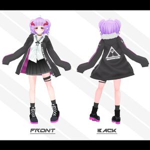 オリジナル3Dモデル「ミスティ・カクテル」