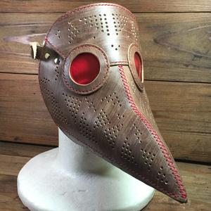 ペストマスク(旧型紙)松煙含み