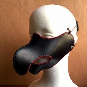 猛禽類マスク(黒)