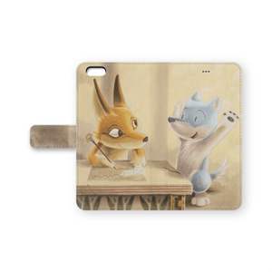 手帳型iPhoneケース-リドとクート-