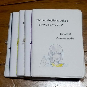 tac recollections vol.11~15  5冊セット(あんしんBOOTHパック用)