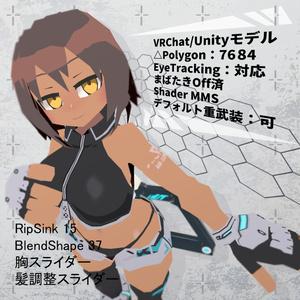 3Dオリジナルモデル - REM_レム&ΔGUN -