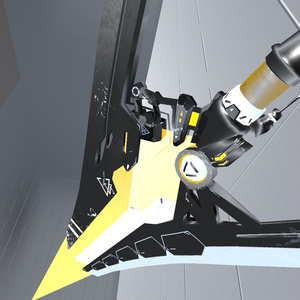【VRC/MMD/UnityGame:改変OK】3Dモデル武器 SNBE_HTP