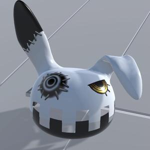 3Dモデル - 縫いウサギ -