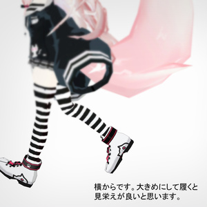 3Dモデル - Catshoes -