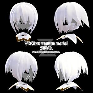 - Vマケ2限定版 - 3Dオリジナルカスタムモデル  - ZENA -