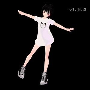 3Dオリジナルモデル  - アングラの子