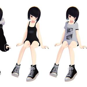 オリジナル3Dモデル  - アングラの子