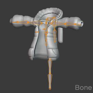 3Dモデル - Jucket_WabePunk2019 -