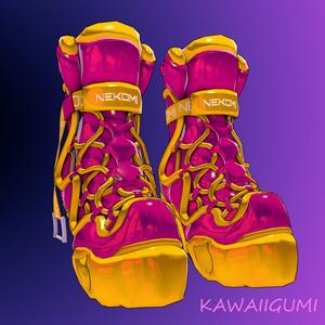 3Dモデル - Boots-WavePunk-2020 -