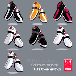 3Dモデル - Shose - Albesta