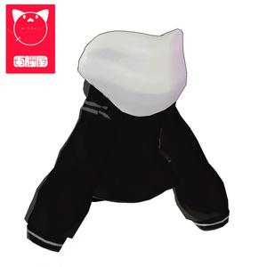 3Dモデル - Parker - アングラの子のパーカー -