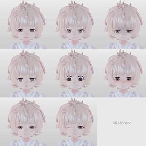 【 オリジナル3Dモデル】- ふわもこ系の子 -