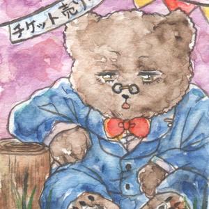ミニ原画(森の百貨店)