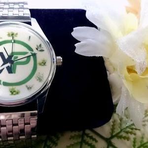 ◆過去作品(アーカイブ) メタルベルトウォッチ(3針腕時計):XPコイン おハーブ文字盤シリーズ