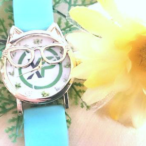 ◆Not for sale (アーカイブ) International postage included: Silicon  Belt Watch (2 Needle Wrist Watch): XP Coin Herb Dial board series