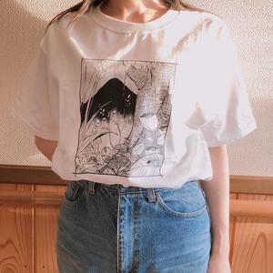 コッペパンTシャツ(white)