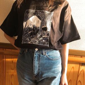 コッペパンTシャツ(black)