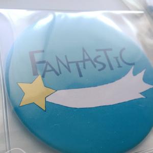 『FANTASTIC』缶ミラー