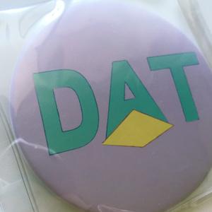 『DAT』缶ミラー