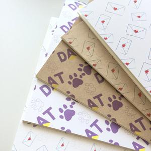 B5方眼ノート(猫DAT)