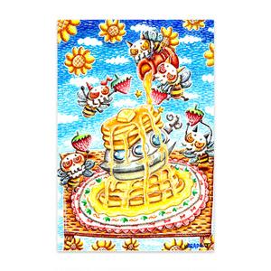 UFOホットケーキポストカード(10セット)