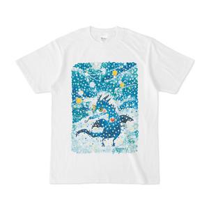 夜空ドラゴンTシャツ