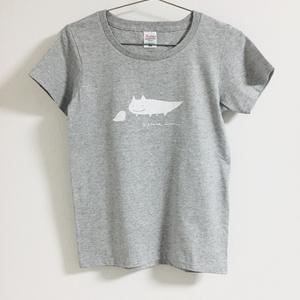 キツネイモリTシャツ(グレー)