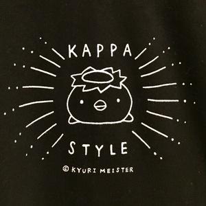 カッパスタイルTシャツ(黒)