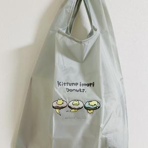 キツネイモリドーナツのエコバッグ