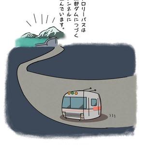 トロリーバスの観察