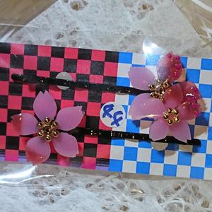 ★ノベルティ用★刀剣乱舞-花丸-桜ヘアピン40セット