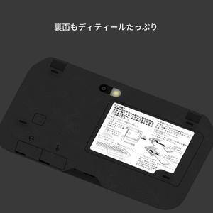 クラムシェル型スマートフォン 3DCGモデル