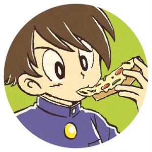 ピザトーストとヒロくん