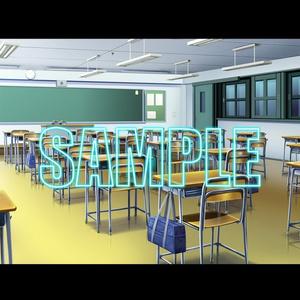 背景素材:学校教室1