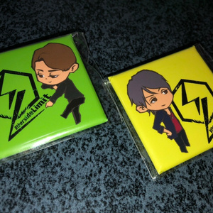 ☆OsL缶バッジ2枚セット(Yu-ki&Shun)☆