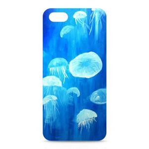 「クラゲ」 スマホケース(iPhone5用)