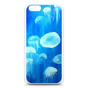 「クラゲ」 スマホケース(iPhone6用)