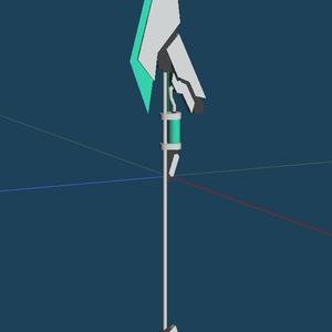 [VRchat等]ずんだ式オリジナル武器1
