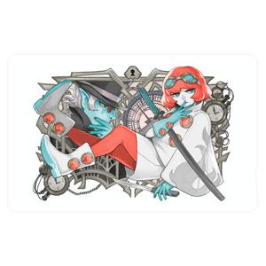 Reddish Cyan ICカードステッカー