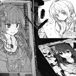 紙+少女 2011-2015