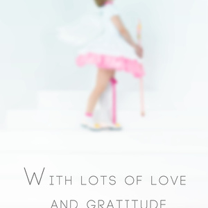 【C95】With lots of love and gratitude
