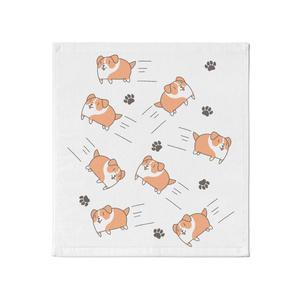 スライド犬 タオル
