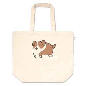 スライド犬 トートバッグ
